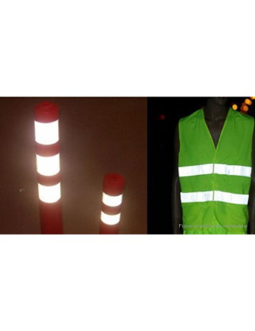 5cm*3m Reflective Safety Warning Conspicuity Tape Film Sticker