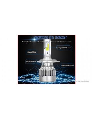 C6MAX H4 LED Car Headlight (Pair)