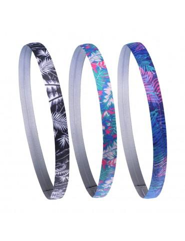 Unisex Printing Elastic Sport Hair Band Headbands Breathable Anti-slip Comfortable Sport Hairbands Sweat Head Bands